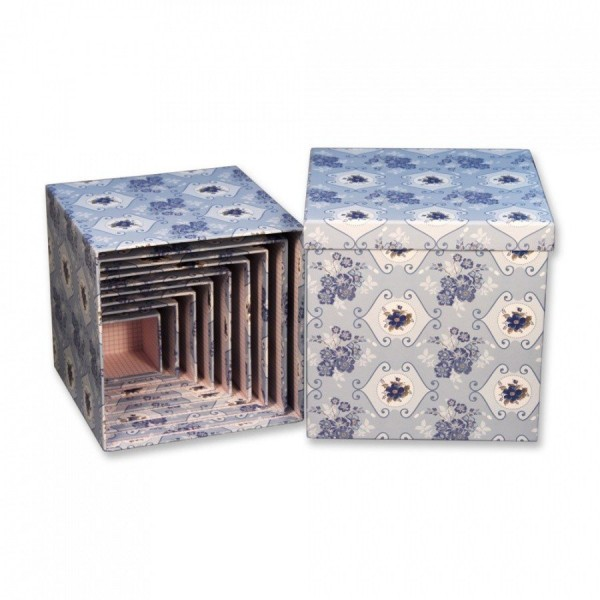 "Набор коробок из 10 штук ""куб Азулежу"""