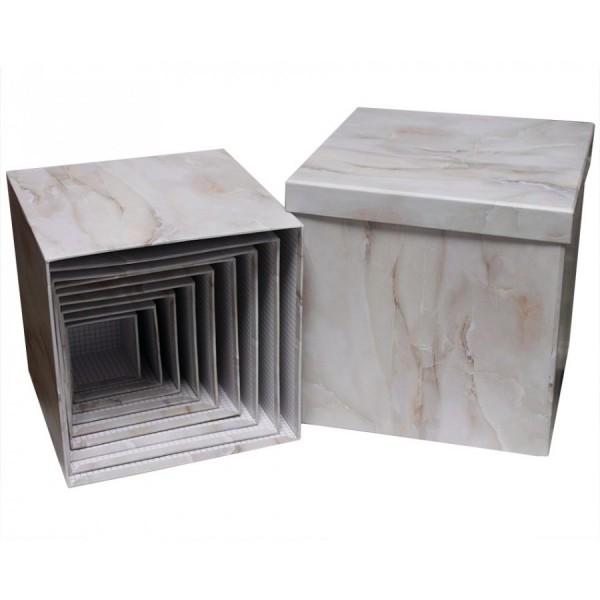 """Набор коробок из 10 штук """"куб Оникс"""""""