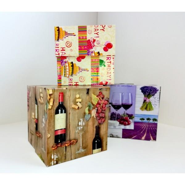 """Коробка подарочная """"Куб 14"""""""